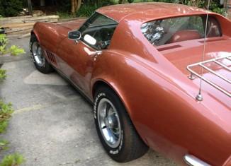 Corvette Values: 1968 Corvette Coupe