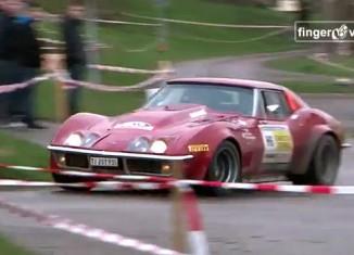[VIDEO] 1969 Corvette Rally Car Runs Hard in Swiss Race