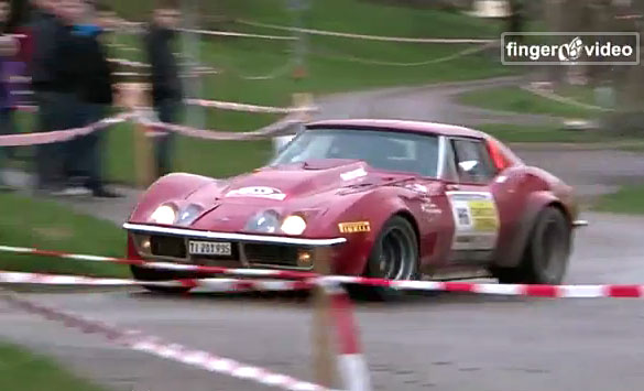 [VIDEO] 1969 Corvette Rally Car Runs Hard in Swiss Race