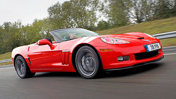 Top Gear Reviews the Corvette Grand Sport Convertible