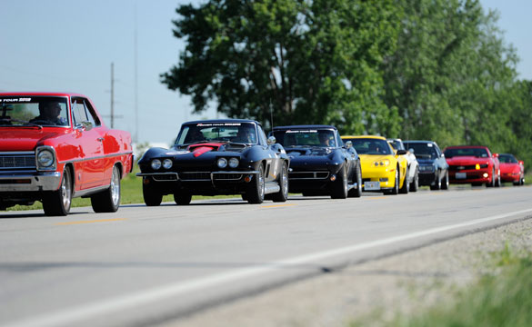 Hot Rod Power Tour Stops at Mid America Motorworks