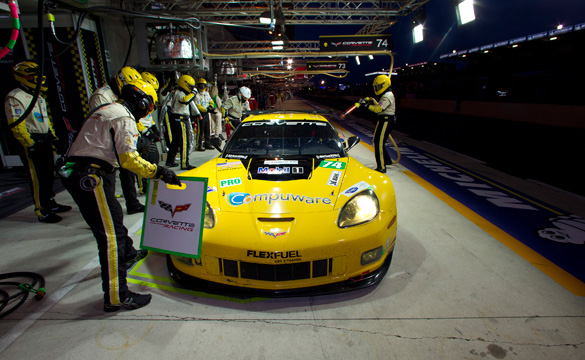 Live Blogging Corvette Racing's 24 Hours of Le Mans