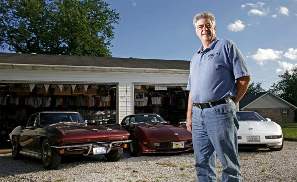 Missouri Brush Fire Claims Man's Three-Car Corvette Collection