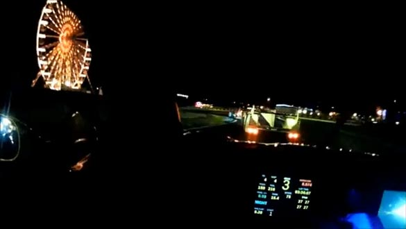 [VIDEO] Corvette Racing's Jordan Taylor Shares a Lap of Le Mans at Night