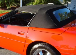 Corvette Central's C4 Convertible Top Installation Guide
