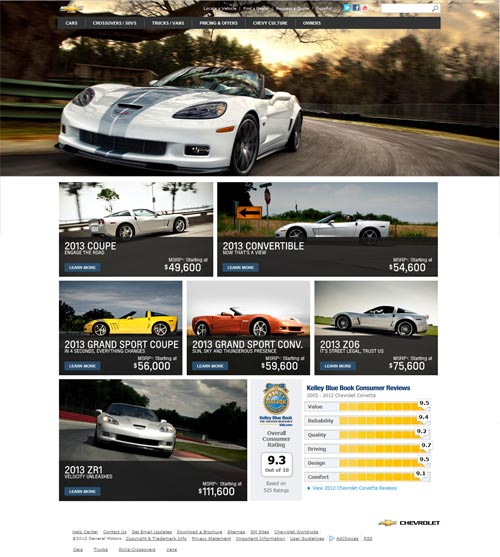 The New 2013 427 Convertible Corvette is Now Live on Corvette.com