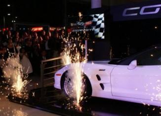 [VIDEO] 2013 60th Anniversary Corvette ZR1 Unveiled in Mexico