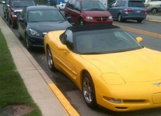 Indiana Mayor Fights Police Department After His Corvette Receives a Parking Ticket