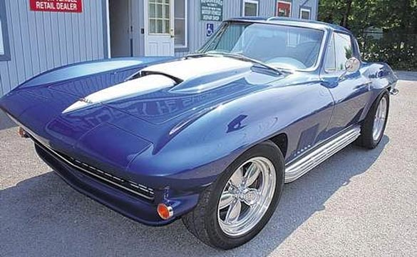 Restorer Creates a 'Mythical 1967 Corvette'