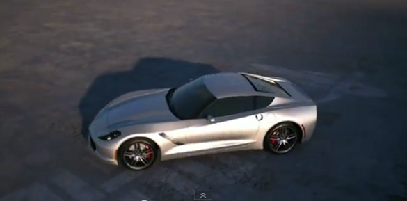 [VIDEO] 2014 C7 Corvette Digitally Animated
