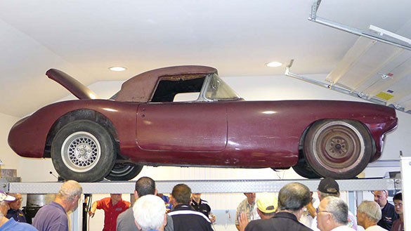 [PICS] The #1 1960 Briggs Cunningham Le Mans Corvette Revealed at Corvettes at Carlisle