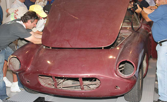 Public Reveal for the #1 1960 Briggs Cunningham Corvette Canceled Due to Undisclosed Security Concerns