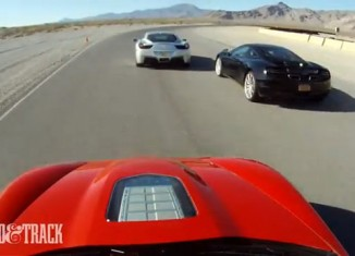 [VIDEO] Corvette ZR1 vs Ferrari 458 Italia vs McLaren MP4-12C
