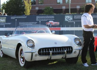 [VIDEO] Harlan Charles Talks About the C1 Corvette at the Woodward Dream Cruise