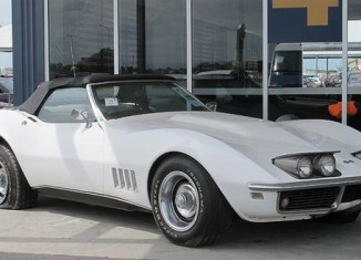A 1968 Corvette Stolen a Decade Ago Found in Aussie Shipping Container