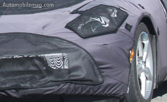 Spy Photos Capture Upgraded Interior in the 2014 C7 Corvette