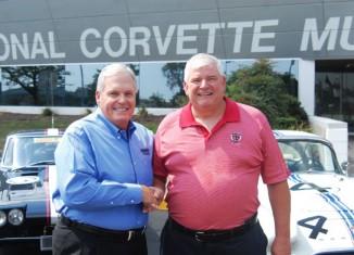 Rick Hendrick Contributes $100,000 to the Corvette Museum's Motorsports Park