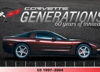 [VIDEO] Chevrolet's Harlan Charles Celebrates the C5 Generation of Corvette