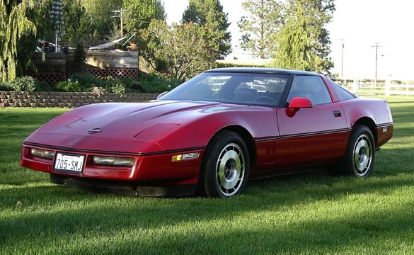 Oregon Man's 1985 Corvette Stolen Twice in 24 Hours