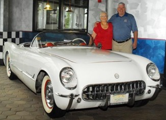 Lori Hale Donates Beloved 1954 Corvette to the National Corvette Museum