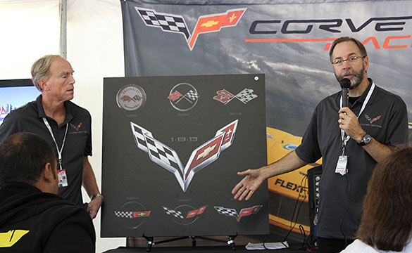 [VIDEO] Corvette's Tadge Juechter and Kirk Bennion Talk about the C7 Corvette at Petit Le Mans