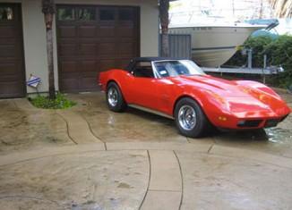 Corvettes on eBay: Kelsey Grammer's 1973 Corvette