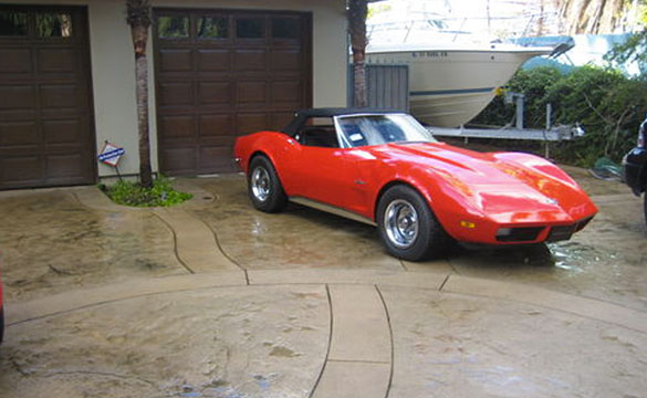 Corvettes on eBay: Kelsey Grammer's 1973 Corvette