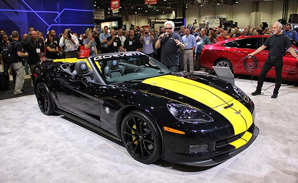 SEMA 2012: Guy Fieri's Custom 427 Convertible Corvette