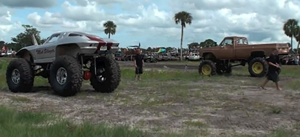 [VIDEO] C2 Split Window Corvette Mud Slinger at Mud Jam