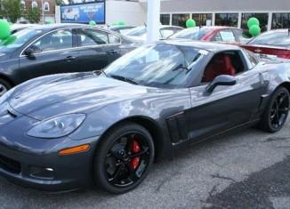 October 2012 Corvette Sales