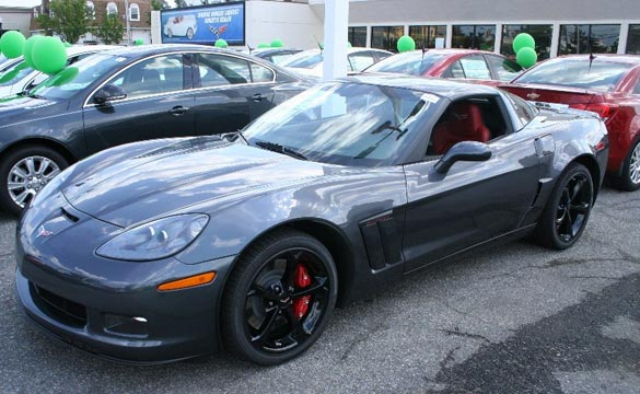 October 2012 Corvette Sales