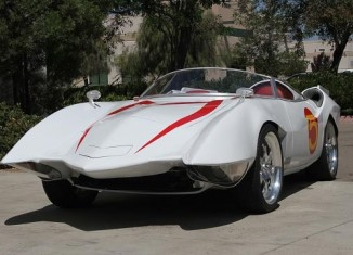 Man Builds Replica Speed Racer Mach 5's from C4 Corvettes