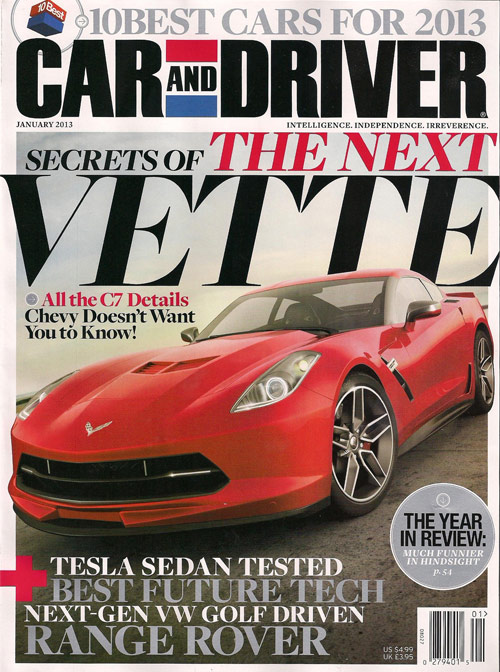 Car and Driver: Secrets of the Next Corvette