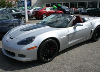 November 2012 Corvette Sales
