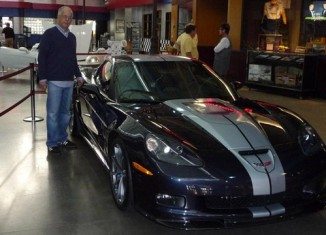 [PICS] 2013 Corvette ZR1 in Night Race Blue with 60th Anniversary Stripe