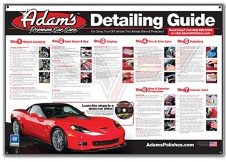 Give the Gift of a Clean Corvette this Christmas Season from Adam's Polishes
