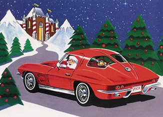 The Corvette Enthusiast's Night Before Christmas