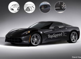 [PIC] TopSpeed Renders the 2014 C7 Corvette in Black