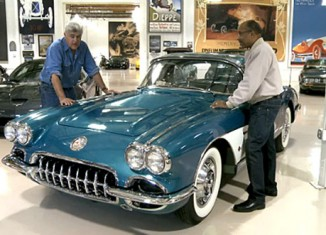 [VIDEO] A Collection of Vintage Corvettes Visits Jay Leno's Garage