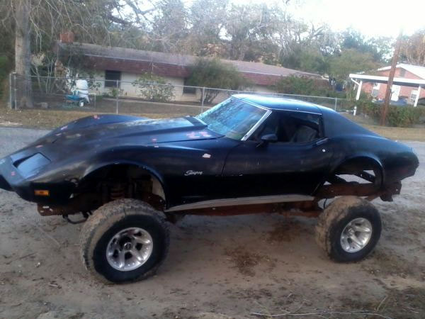 Corvettes on Craigslist: 1978 4x4 Corvette