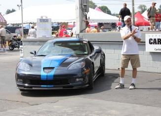 Corvette Museum to Raffle Kirk Bennion's 2013 Night Race Blue Corvette ZR1 on Thursday