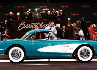 [VIDEO] GM Chairman/CEO Dan Akerson Raises $270,000 for Charity with Sale of 1958 Corvette