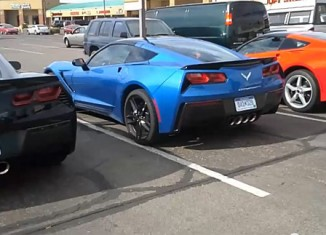 [VIDEO] A Trio of 2014 Corvette Stingrays Caught Testing in Arizona