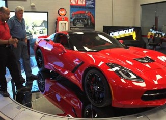 [VIDEO] 2014 Corvette Visits Jay Leno's Garage