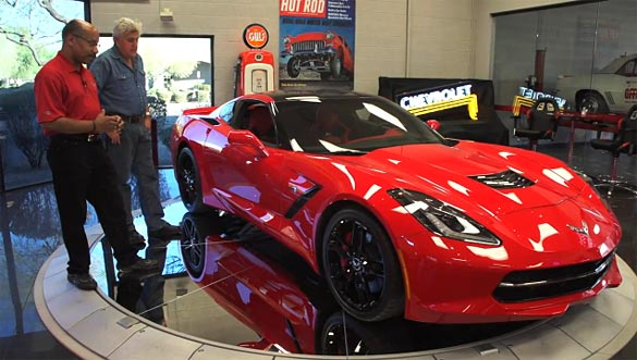 [VIDEO] 2014 Corvette Visits Jay Leno's Garage