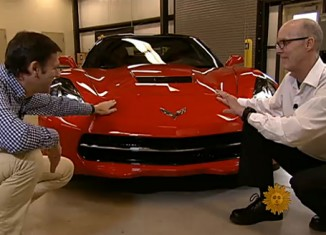 [VIDEO] The 2014 Corvette Stingray Featured on CBS Sunday Morning