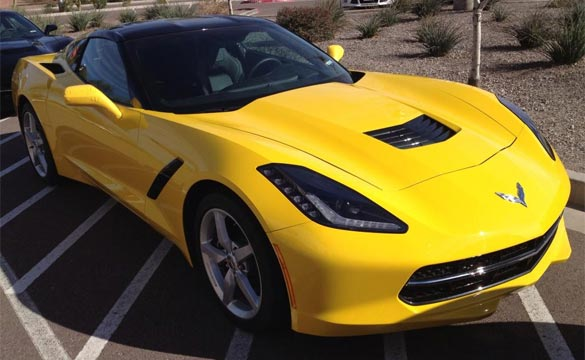 Velocity Yellow 2014 Corvette Stingray Spotted in Arizona