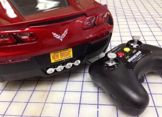 New Bright's 1:8 Scale Radio Controlled 2014 Corvette Stingray