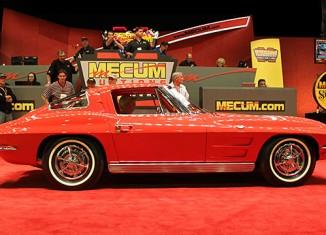 [VIDEO] 1963 Corvette Split Window Sells for $275,000 at Mecum's 2013 Kissimmee Auction