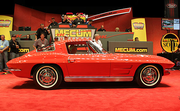 [VIDEO] 1963 Corvette Split Window Sells for $275,000 at Mecum's 2013 Kissimmee Auction